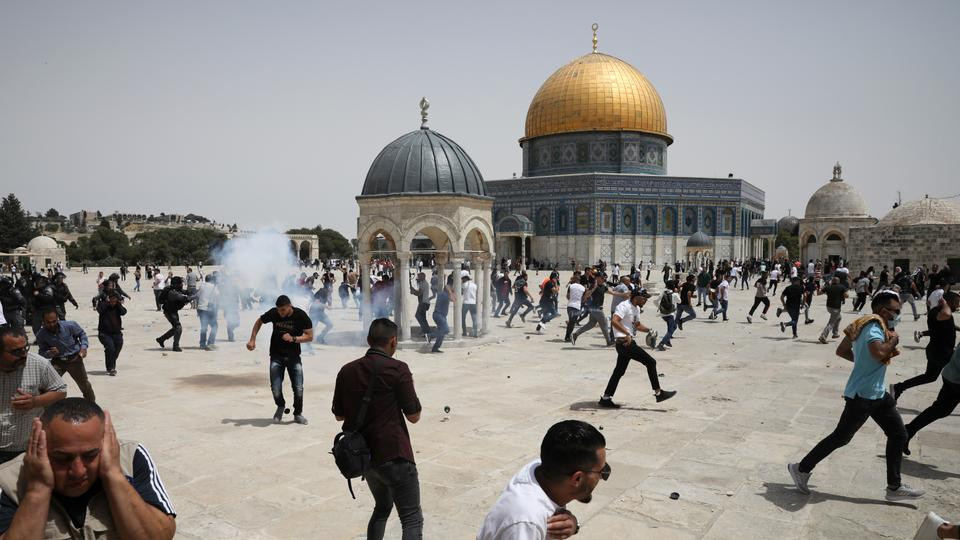 US Supports Israel Despite Attack At The Al-Aqsa Mosque On Friday May 21 After Ceasefire