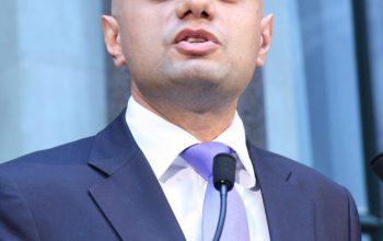 Sajid Javid - UK Health Secretary