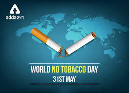 World Marks Tobacco Day on 31st May