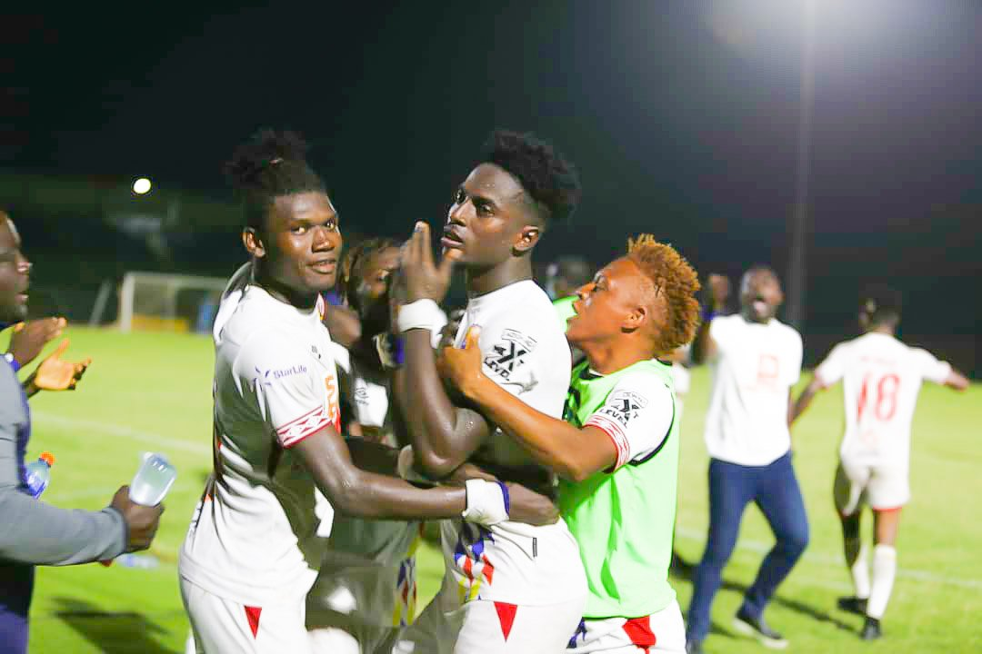 Caleb Amankwah free-kick goal takes Hearts of Oak closer to double glory