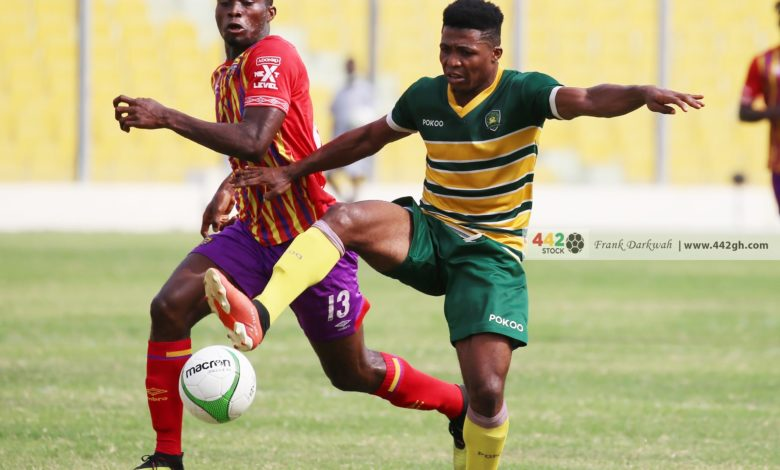 Obeng Junior saves Hearts of Oak from shocking defeat in Cape Coast