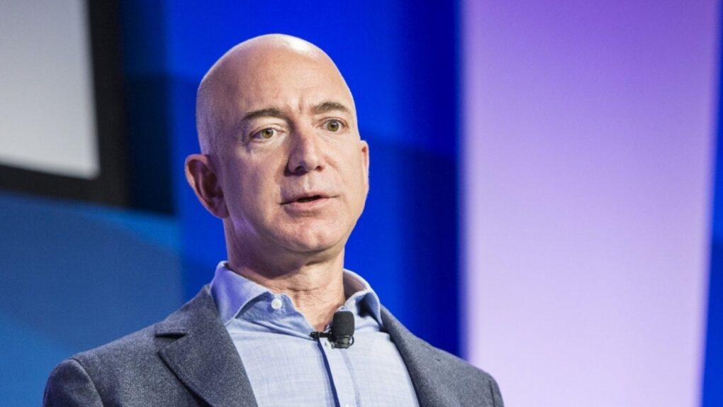 Jeff Bezos steps down from Amazon as CEO