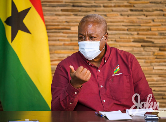 'Spouses of the President and Vice President are not captured among Article 71 Office Holders' – John Mahama