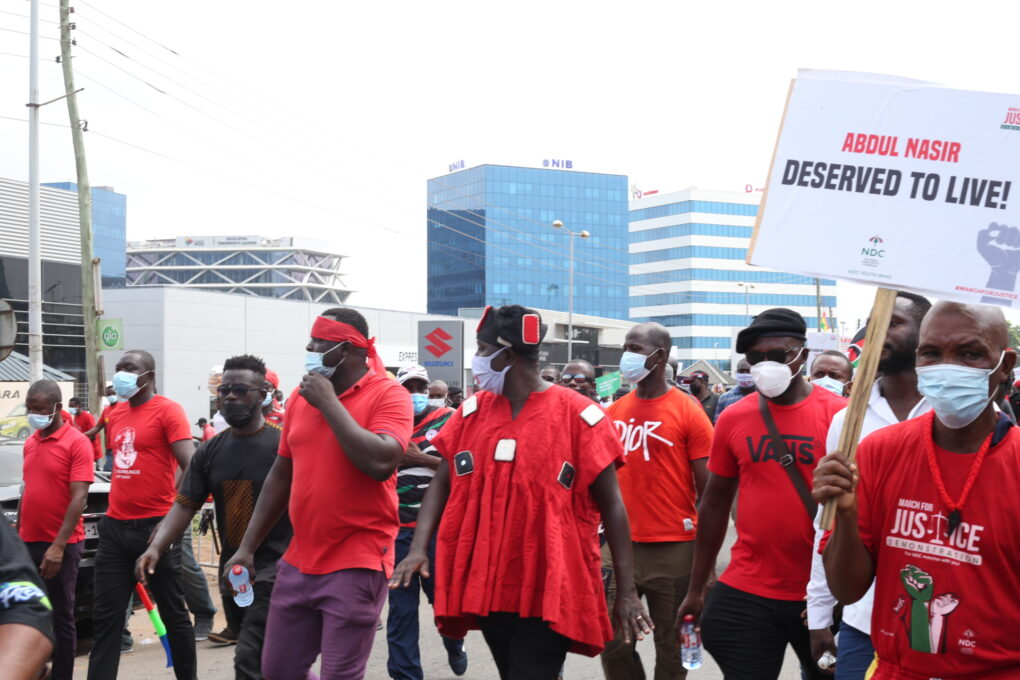 'Incompetent Bawumia, where are the Police reforms?' – Protestors ask Veep