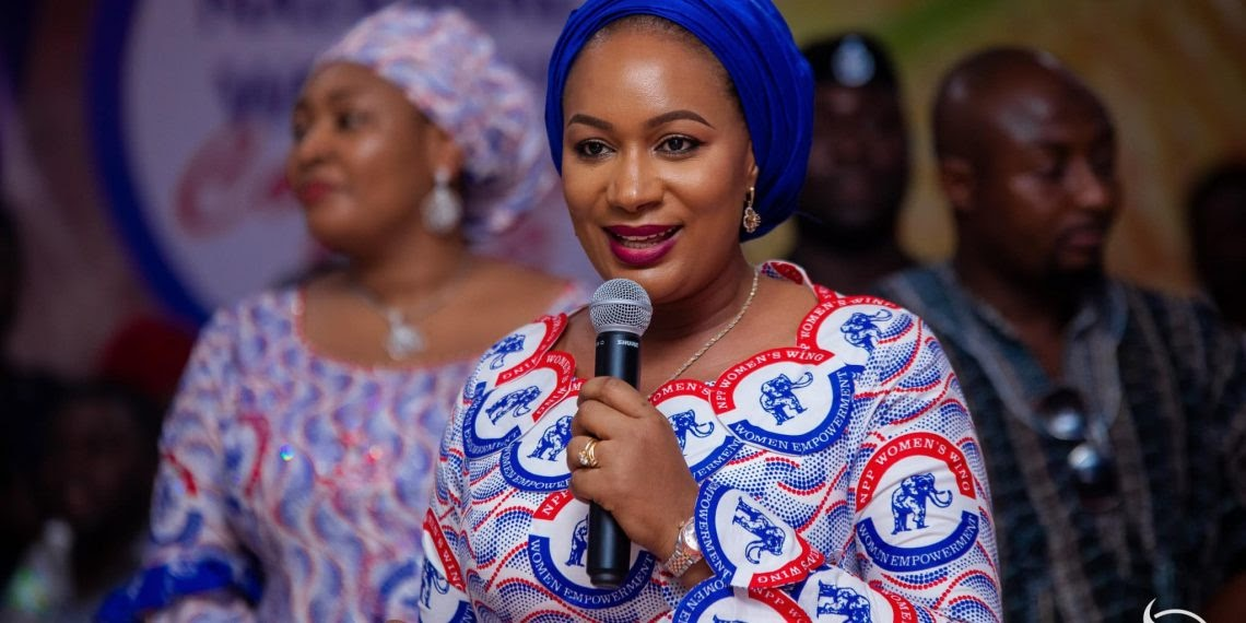 Samira Bawumia rejects new emoluments and pledges to refund allowances paid her since 2017