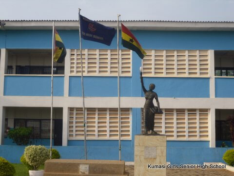 Soldiers, police allegedly assault protesting Kumasi Girls' SHS students