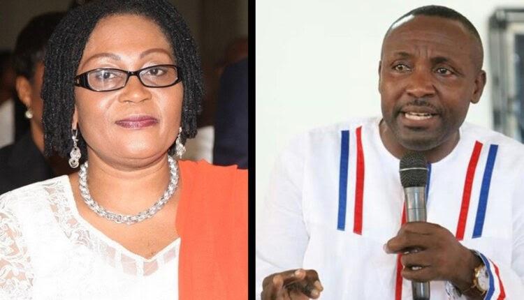 Refund the GH₵3.2million paid to you – John Boadu tells Lordina Mahama