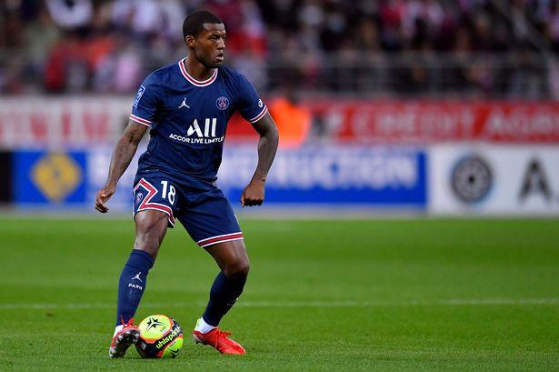 Wijnaldum  admits being unhappy at Paris Saint Germain