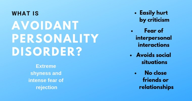 avoidant personality disorder, test for avoidant personality disorder