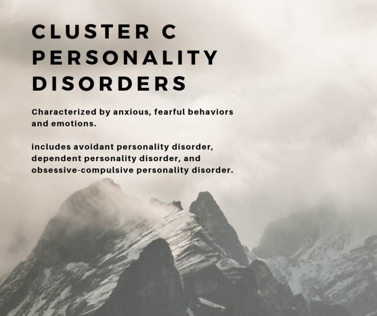 what are the 3 types of personality disorders