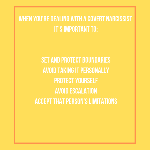 The Covert Narcissist: What They Are and How to Deal with Them