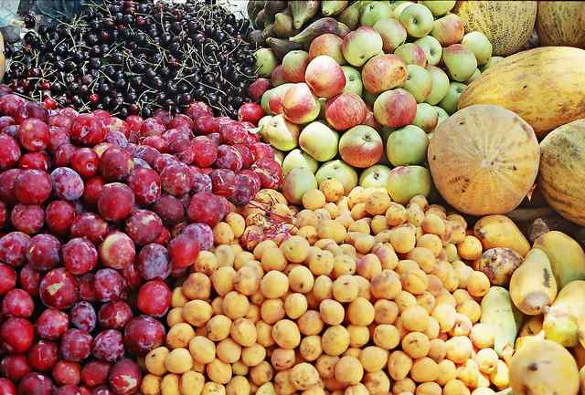 Fruits of Hunza valley