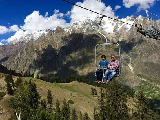 Naltar chair lift