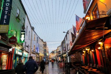 Galway City center
