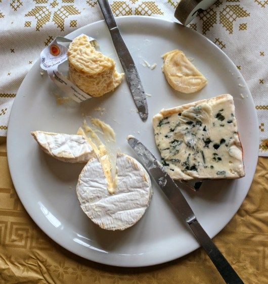 Not my personal cheese plate but I wish