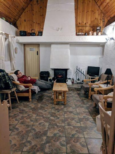 Spiddal Cottage interior