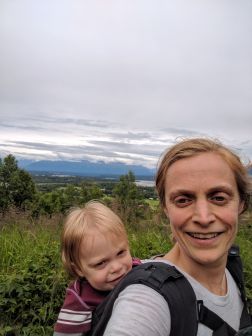 Hiking in Palmer, Alaska