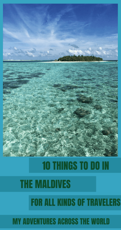 Discover the things to do in Maldives for all kinds of travelers - via @clautavani