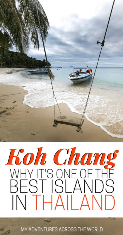 Find out why Koh Chang is one of the best islands in Thailand - via @clautavani