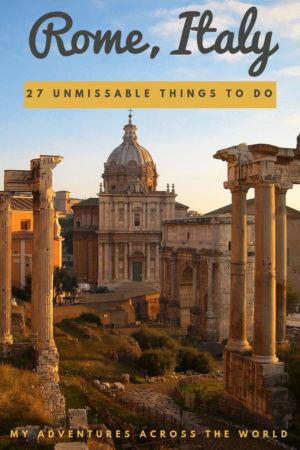 Discover all the most fun things to do in Rome - via @clautavani