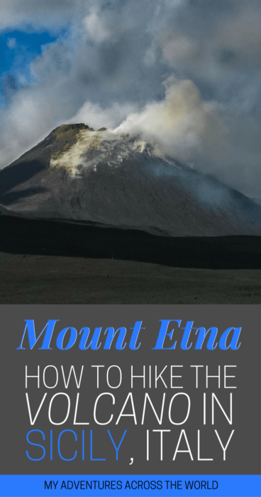 Find Out How To Visit Mount Etna Without Any Hassle | Etna | Sicily Italy | #sicily #italy via @clautavani