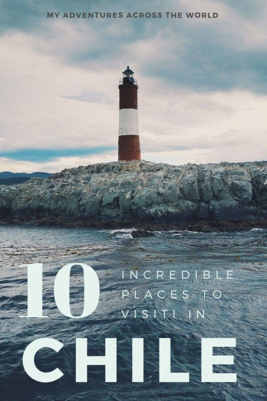 Discover ten places to visit in Chile - via @clautavani