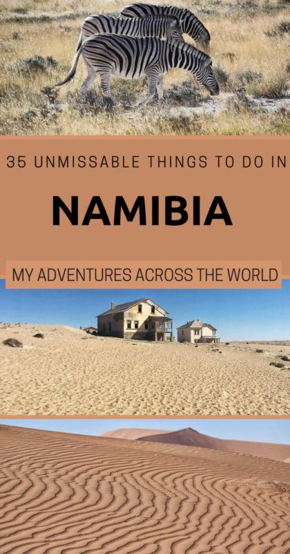 Discover 35 Simply Unmissable Things To Do In Namibia - via @clautavani