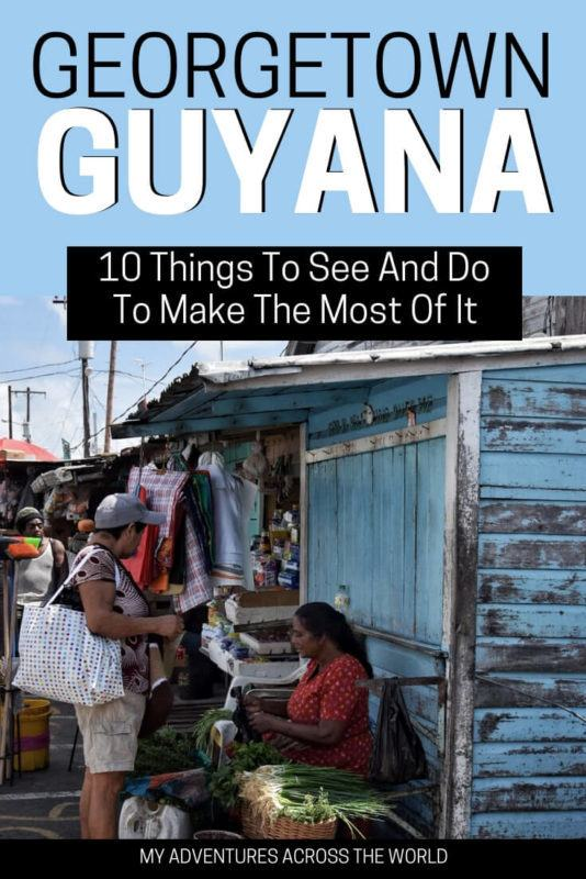 Georgetown, Guyana, is a buzzing, lively and colorful city that is fun to explore. Discover what are the main attractions and things to do there   Guyana   Guyana travel   #discoverguyana #guyananice via @clautavani