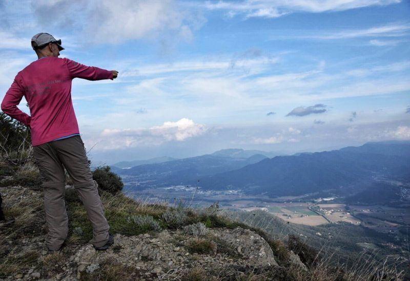 hiking in Garrotxa