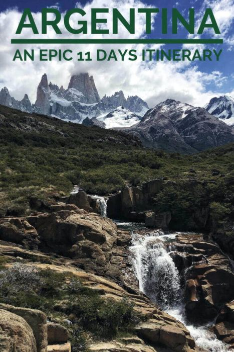 Discover the ultimate Argentina itinerary - via @clautavani