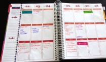 The Week Section in my LIfe Planner