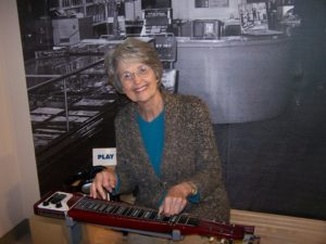 Mom at the Music Museum