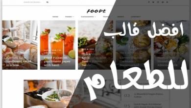 Photo of تنزيل افضل واسرع قالب blogger مهتم بالطعام والطبخ | تنزيل قالب Food 2019