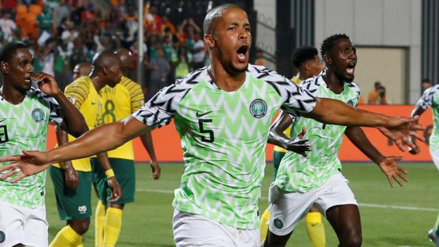 CAN 2019/ Ca passe pour le Nigeria face à l'Afrique du Sud