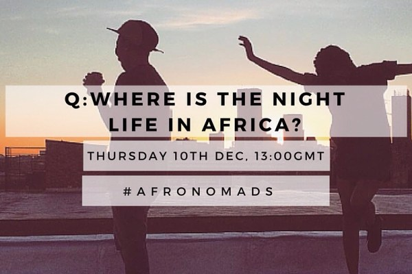 Travel Africa Twitter Chat