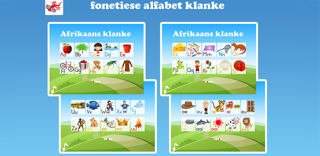 Afrikaans ABC Alphabet Phonics 91