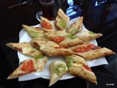 Turkish pizza.