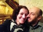 Us enjoying a romantic dinner at Dibek in Gorome.