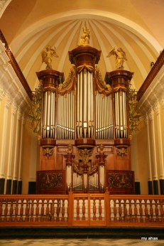 La Catedral, Interior Pipe Organ, largest in South America