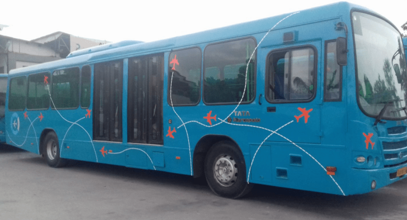 Ahmedabad city to Airport bus full details