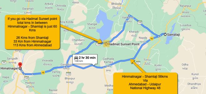 Rajendranagar hill map