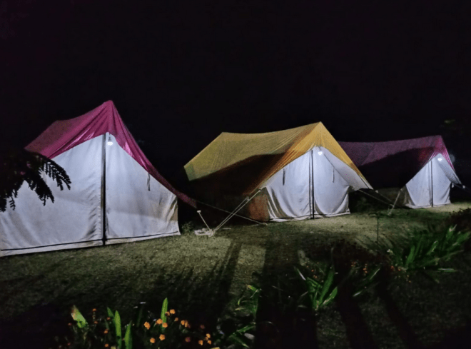Night Stay in Tent