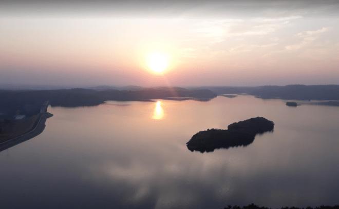 Kadana dam Sunset Point