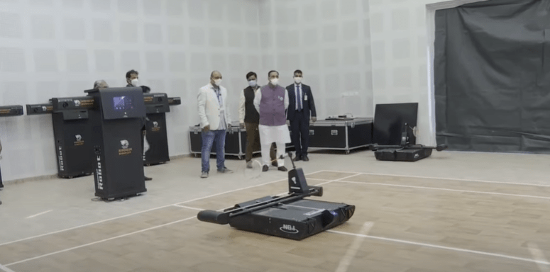 Science City Cleaner Robot