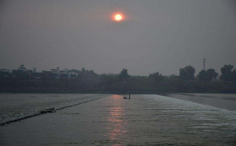 Sindhrot Checkdam near Vadodara