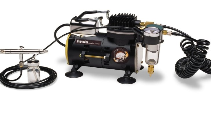 2019 update: Iwata-Medea Studio Series Smart Jet Single Piston Air Compressor Review