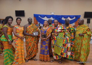 Asanteman Assoc. of Chicago and Midwest's first annual kente dance
