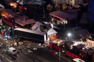 The scene of the truck attack on a Christmas market in Berlin last week. Credit Bernd Von Jutrczenka/European Pressphoto Agency
