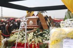 Burial rites of Asantehemaa underway