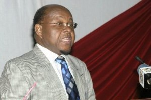 Professor Mike Ocquaye Ghana's Speaker of Parliament, by incoming President Akufo-Addo